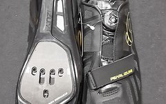 Pearl Izumi Race Road IV Carbon Schuhe schwarz/lime 43 NEU!
