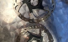 Shimano 2x XT Bremsscheiben 180 + 160mm 6-Loch zusammen 20€
