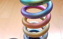 Ti-Springs Rainbow Feder für Rock Shox 400x3,5 neu!!!