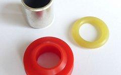Fox Rebuild Kit für Bearing Assembly (Abstreifer, O-Ring, Gleitbuchse) älterer Fox Vanillas mit 9,52mm Kolbenstange