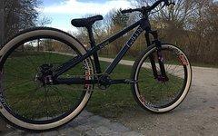 Green Bicycles Scope Custom Dirt