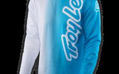 Troy Lee Designs Gr.M GP AIR JERSEY 50/50 WHITE/BLUE