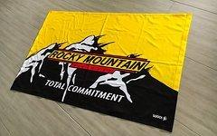 Rocky Mountain Fahne - Teambanner 2016 neuwertig