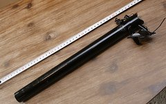 Saso Alu Sattelstütze 31,6mm schwarz