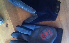 Rose Handschuh mit Gel Polster Größe L