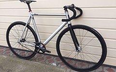 8Bar V3 KRZBERG Fixie 58cm Carbon Silber *like new*