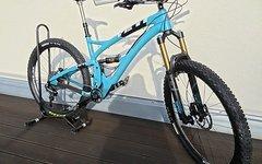 Yeti SB 5c Gr.M, Trailbike of the year 2015