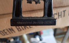 Shimano SM-PD22 Pedalplatten inkl. Reflektoren.