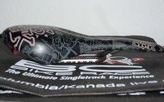 66Sick El Flaco Sattel Pattern Carbon schwarz 128mm