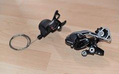 Shimano Deore Schaltgriff SL-M610 mit Klemmschelle 2-/3-/10-fach
