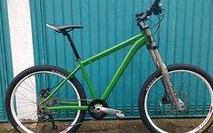 Funbike Green Frog