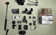Sony Preisanpassung HDR-AS200V / GoPro kompatible / Viel Zubehör