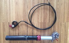 Kind Shock Absenkbare-Sattelstütze Kind Shock Dropzone mit Remote am Lenker