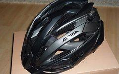 Alpina Valparola XC MTB-Helm Größe 55-59 cm Schwarz-Titanium OVP Rechnung
