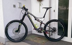 "Specialized Stumpjumper Carbon Expert EVO 26"" 2014 CUSTOM"