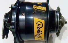 Rohloff 14-Gang Nabenschaltung Speedhub 500/14 mit Bremsscheibe