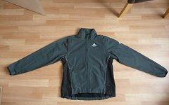 Vaude Dundee Jacke grau/schwarz Damen Gr.36