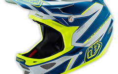"Troy Lee Designs D3 HELM ""Gr.S"" REFLEX GRAY/YELLOW"
