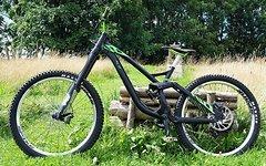 NS Bikes FUZZ 1 EXPERT Wahnsinnsbike Neuwert über 7000 Euro mit Dorado TPC und DVO Jade mit Titanfeder Hope Pro 4 bpp Kefü und und und