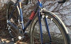 Spleen Stahlrennrad 54er Rahmen Columbus Spirit Rohrsatz Carbongabel