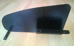Thule Auspuff Hitzeschild LINKS für Modell EuroWay G2, G6, G6 LED (922, 928, 929)