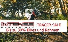 Intense Tracer Sale. Rahmen und Bike 25%