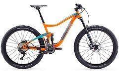 Giant Trance 1.5 LTD Orange, Rh L, 2017'er