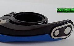 Crankbrothers Split Sattelklemme *black blue* 31,8mm (für 27,x mm Stütze)