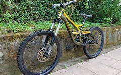 Specialized Demo 7 II 2010 Green metallic -Gold *Limited Edition* Size M