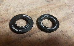 Shimano Centerlock Verschlussringset für 15/20mm und 12mm