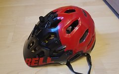 Bell Super 2 Mips Black Red Aggression (M)