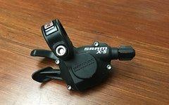 SRAM X5 2-fach Shifter links