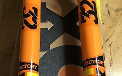 """Fox  Racing Shox 32 Step-Cast Float FIT4 Factory 29"""" BOOST Orange Factory Racing Fit4"""