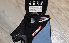 Time Kurzfinger Handschuhe RXS AIR FLOW LADY Blau/Schwarz L