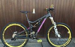 Santa Cruz Bronson 2015 – 2 Monate alt !!! Fox XO Mavic Spank XT