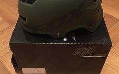Fox Transition Helm 59-61 cm Fat Green