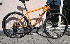 "Cannondale F-Si Carbon 2, Modell 2016, 29"" Hardtail, custom, orange, L"