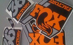 Gabeldecals Fox 36 Factory 2018 Edition Dekor Satz - TRICOLOR Design