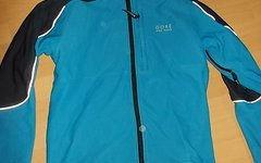 Gore Bike Wear Fusion Tool, Windstopper Softshell Radjacke,blau Gr.M