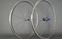 """Radsporttechnik Müller Laufradsatz Rennrad Tune 77 Composite T25 Carbon Sapim ca. 875g 28"""" Tubular"""
