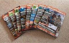 Mountainbike Zeitschriften 8 x aus 2016 / 2017