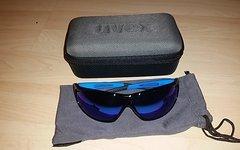 Uvex Sportstyle 810 black blue _ Neu