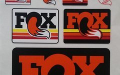 Fox Sticker Kit 2015 - Aufkleber Set