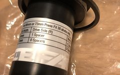 Race Face Tretlager Innenlager pressfit 30, bb Adapter, 68 und 73mm