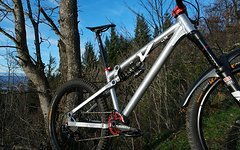 Transition Bottlerocket L mit Fox Van RC shorttravel freerider dirt trail bike -Klassiker-
