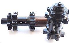 Bitex straightpull MTB Nabensatz 9mm / 142 mm industriegelagert