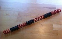 Rock Shox Ersatzfeder für Boxxer / Domain Dual Crown - Rot, mittel