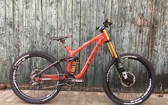 Trek Session 9.9, 2015, Gr.M, neue Federelemente