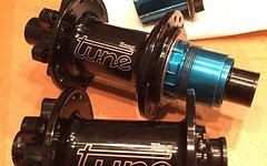 Tune King 15x100, Kong 12x142 SRAM XD + Shimano
