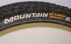 Continental 2x Mountain King 26x2.2 Supersonic Trainingsreifen